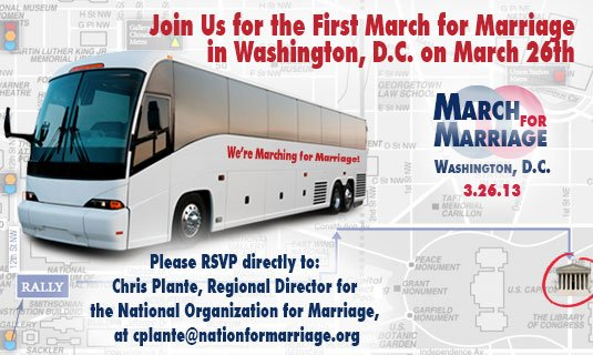 Join Us for the First March for Marriage